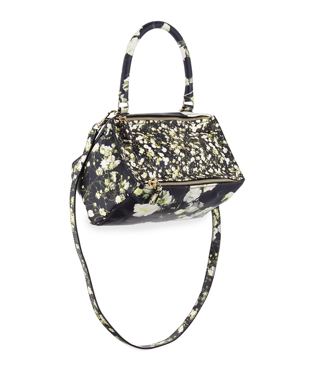 2fd54f808a Givenchy Pandora Small Baby s-Breath-Print Bag
