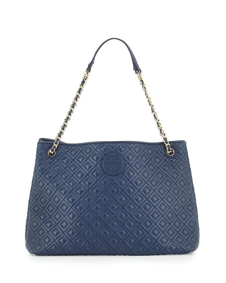 Tory Burch Marion Chain Slouch Shoulder Bag, Hudson
