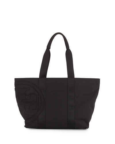 Penn Nylon Small Tote Bag, Black