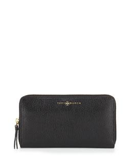 Brody Continental Zip Wallet, Black