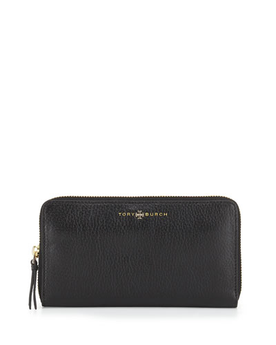 Brody Continental Zip Wallet, Black