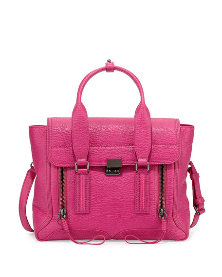 Pashli Medium Zip Satchel Bag