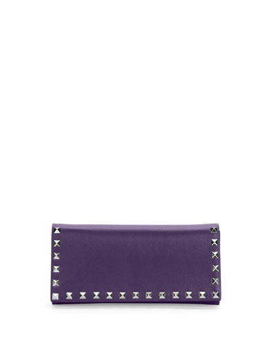 Rockstud Wallet-on-Chain, Purple