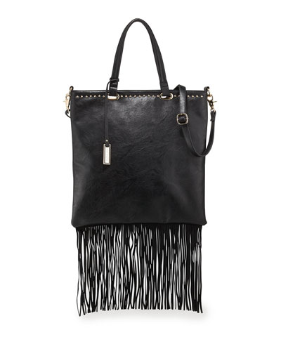 Runway Lover Shopper Tote Bag, Black