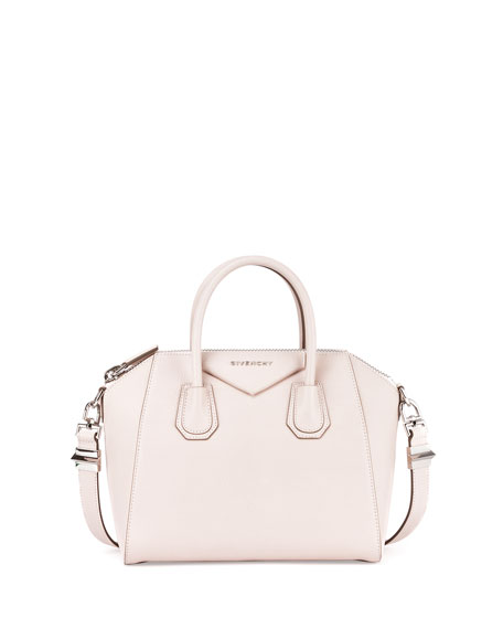 Givenchy Antigona Sugar Small Satchel Bag, Nude