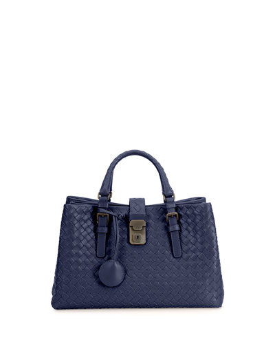 Roma Leggero Small Tote Bag, Royal Blue