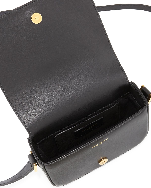 8788f850153 Saint Laurent Monogram Small Universite Satchel Bag, Black | Neiman Marcus