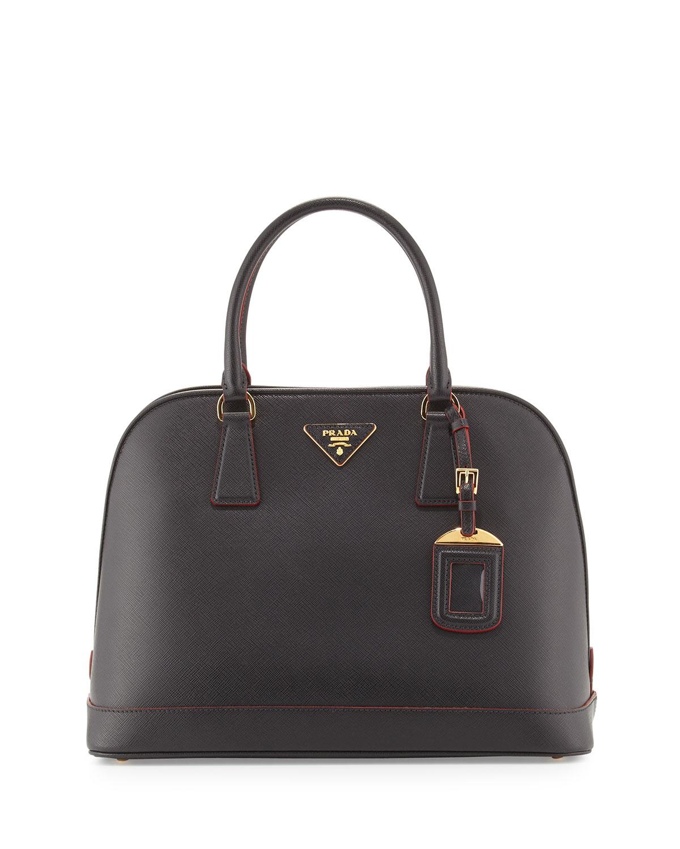 5bc98cdac3f1 Prada Saffiano Lux Promenade Bag