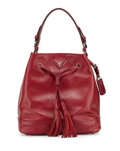 e44cc30f86 1 Prada Soft Calf Bucket Bag