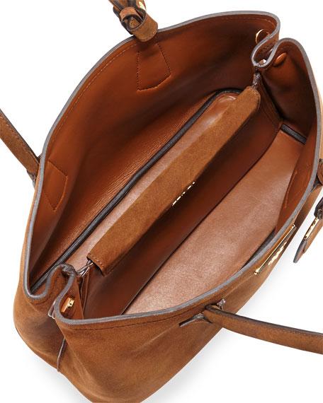 prada suede handbags