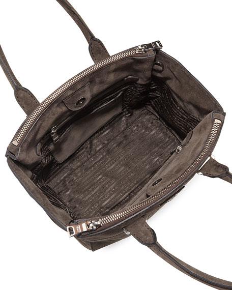 prada canapa and belino shoulder strap