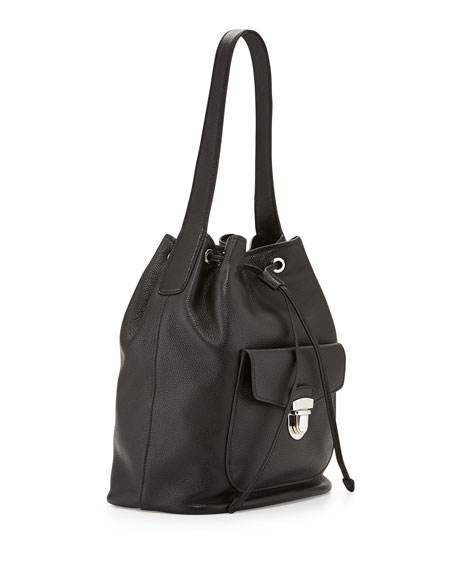 prada bags for cheap - prada vitello daino bucket bag, purple prada purse