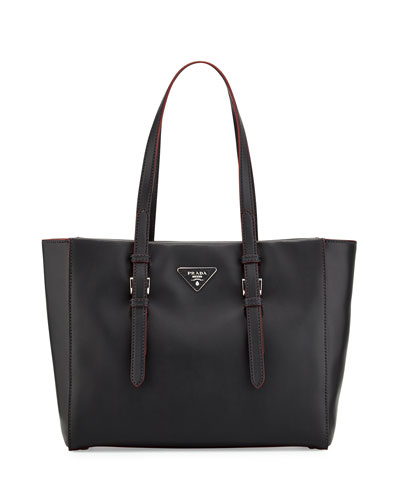 City Sport Shopper Bag, Black/Red (Nero/Rosso)
