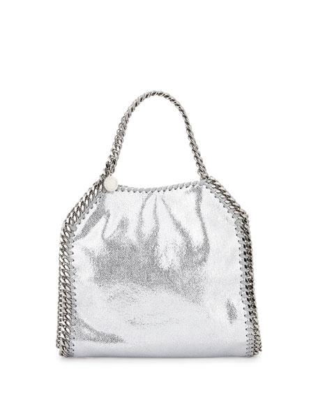 Stella McCartneyFalabella Mini Tote Bag, Silver