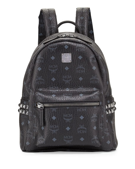 Stark Side Stud Small Backpack, Black