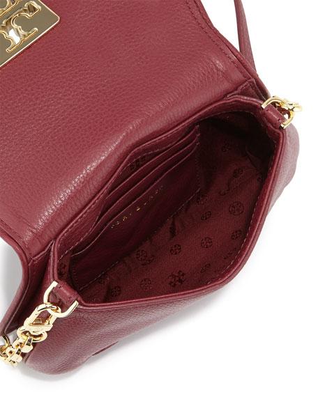 900283538e135 Tory Burch Britten Mini Leather Crossbody Bag