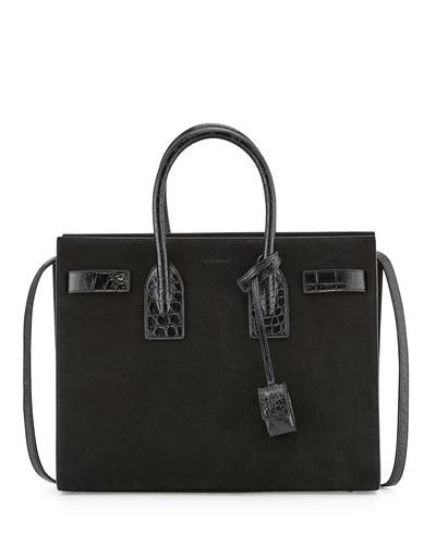 Sac De Jour Suede Small Carryall Bag