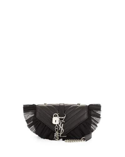 Monogram College Small Punk Tulle Vintage Crossbody