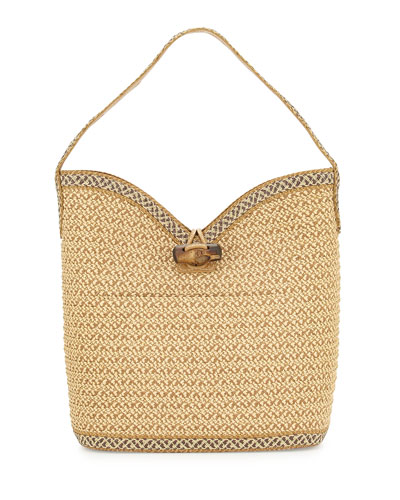 Watusi Bucket Bag, Peanut