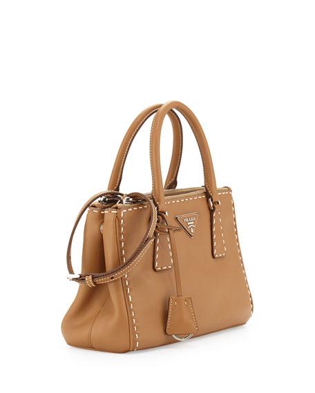 050f8bbb7c Prada Galleria Small Frame Tote Bag