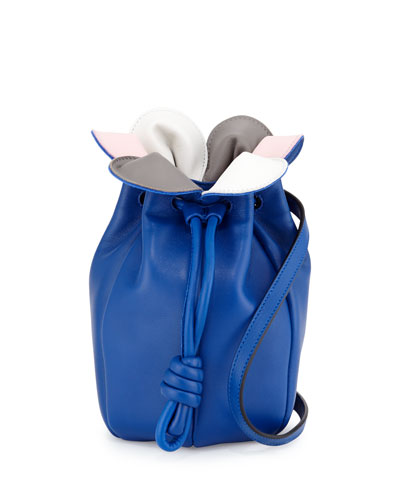 Flamenco Micro Petal Bag, Blue Multi
