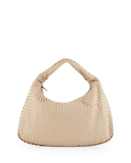 Veneta Large Sac Hobo Bag, Mink