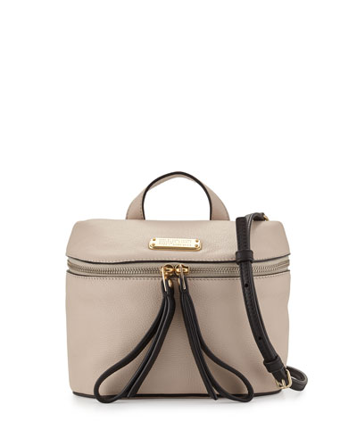 Canteen Leather Satchel Bag, Papyrus