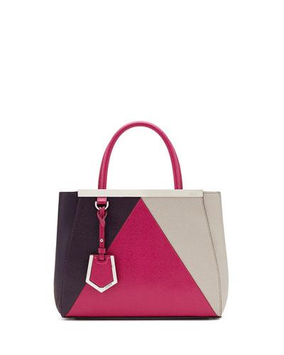 2Jours Petit Shopping Tote Bag, Magenta