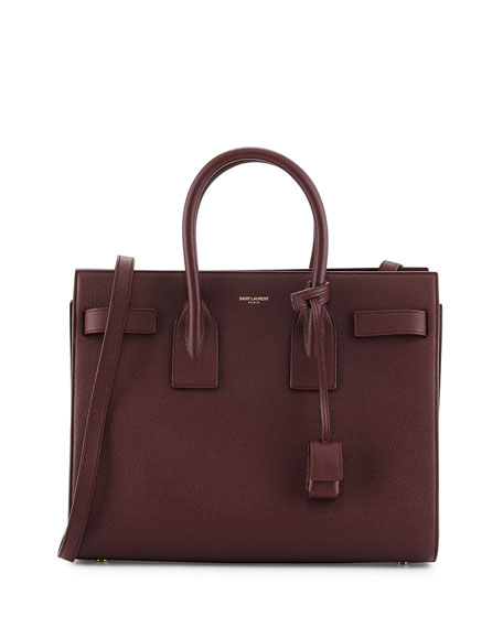 yves saint laurent purses sale - Saint Laurent Sac de Jour Small Satchel Bag, Bordeaux