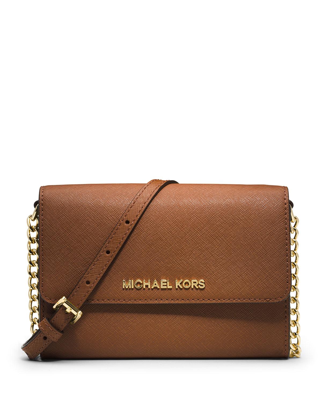 2e9d7b380770 MICHAEL Michael Kors Jet Set Travel Large Phone Crossbody Bag ...