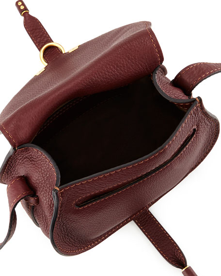 Marci Small Crossbody Bag, Bordeaux