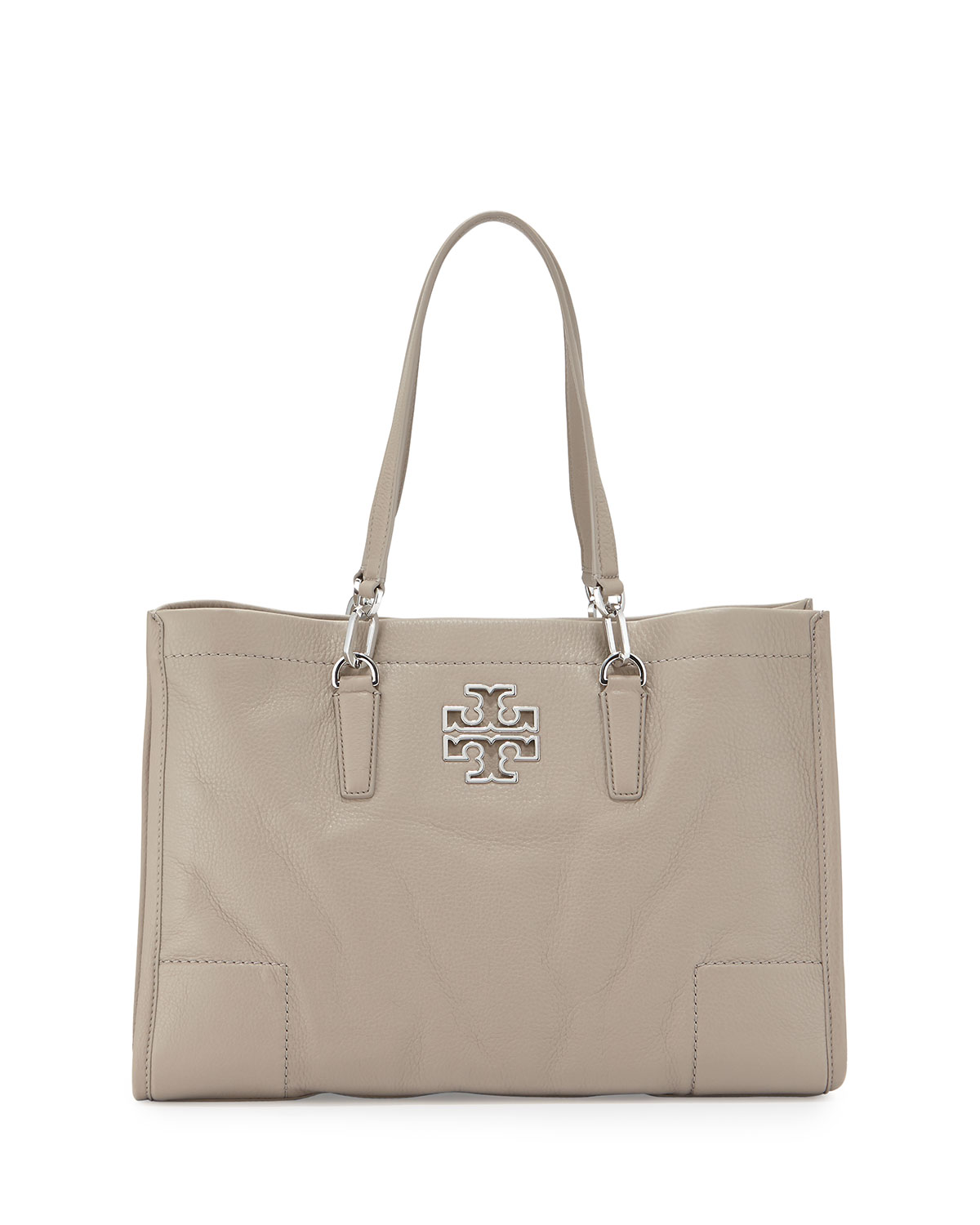 3aca6f160760 Tory Burch Britten Leather Tote Bag