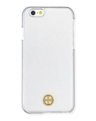 Robinson Logo iPhone 6 Case, Soft Silver