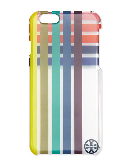 Striped Clear iPhone 6 Case