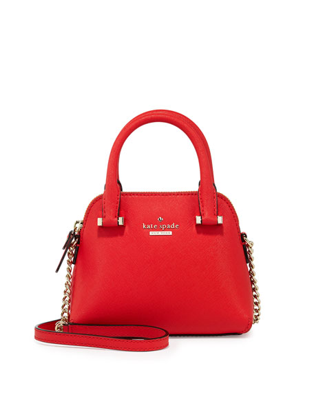cedar street mini maise crossbody bag, cherry liqueur