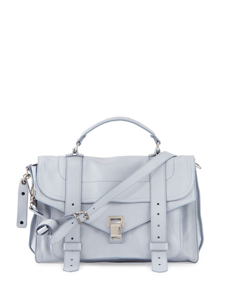 Proenza Schouler PS1 Medium Mailbag, Polar Blue