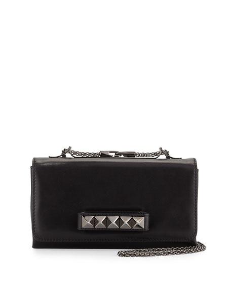 Valentino Va Va Voom Flap Shoulder Bag, Noir Black