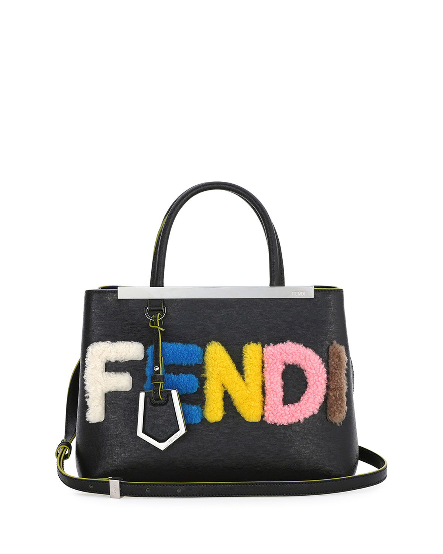 8dd23f14dd4 czech womens designer bags leather bags fendi adc81 6d2c7; greece 2jours  petite fendi shearling satchelbag black multi 56ca7 c4f18