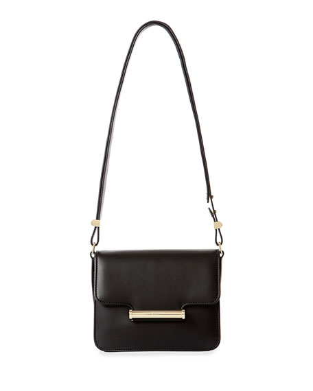 Jason Wu Diane Small Leather Crossbody Bag, Black