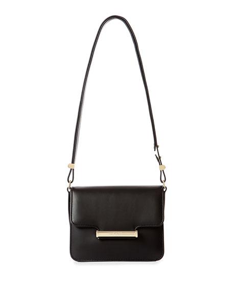 Jason Wu Diane Small Leather Crossbody Bag, Black