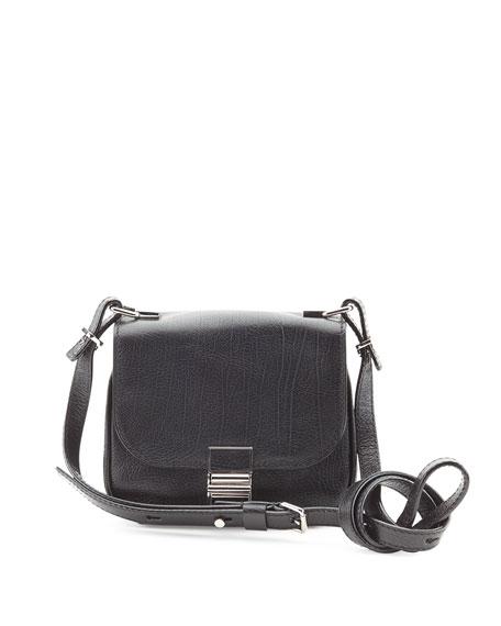 Kent Tiny Vachetta Messenger Bag, Black