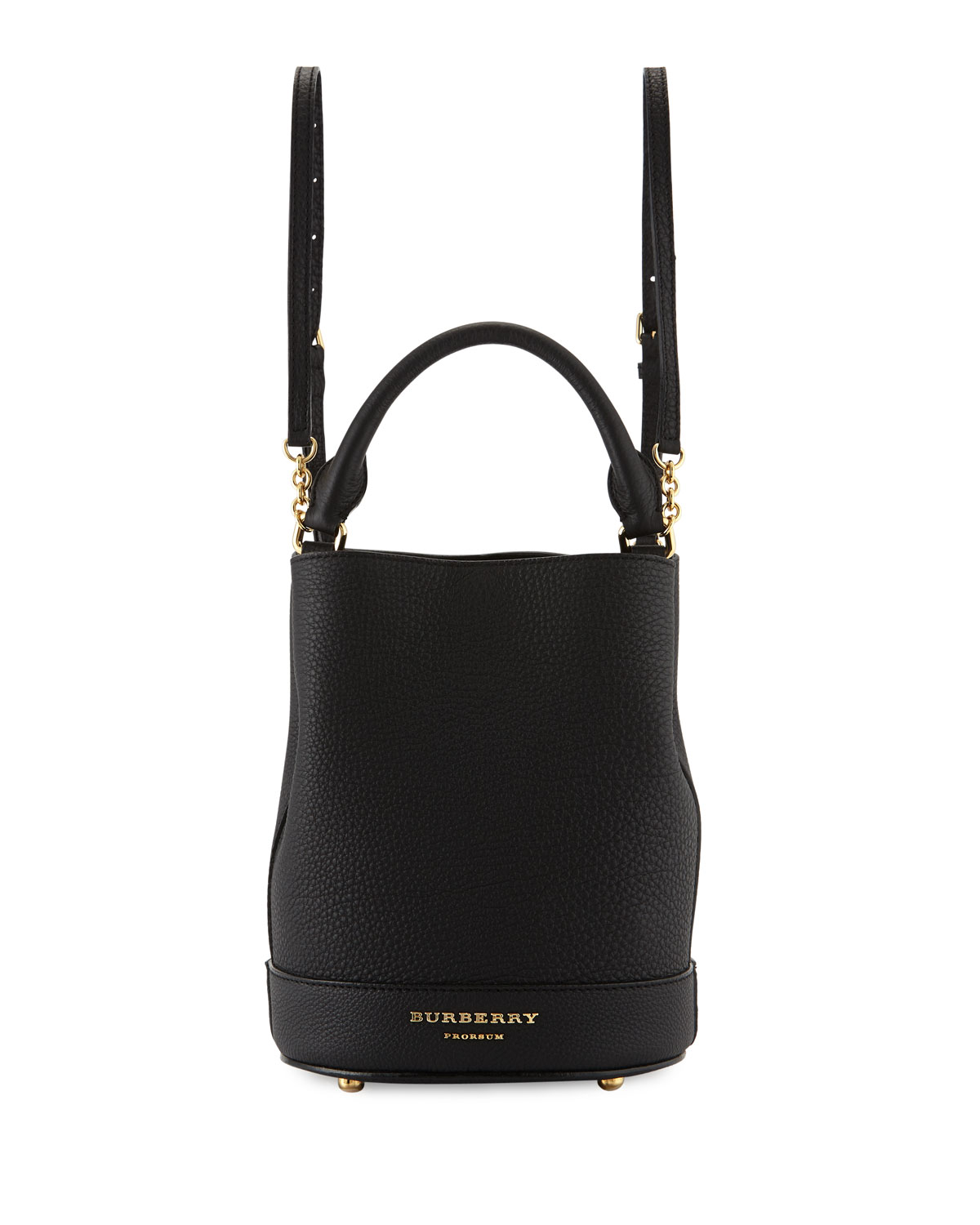 a7288142f4d2 Burberry Prorsum Small Leather Bucket Backpack Bag
