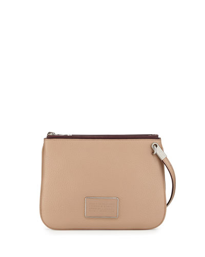Ligero Double Percy Crossbody Bag, Cameo Nude/Multi