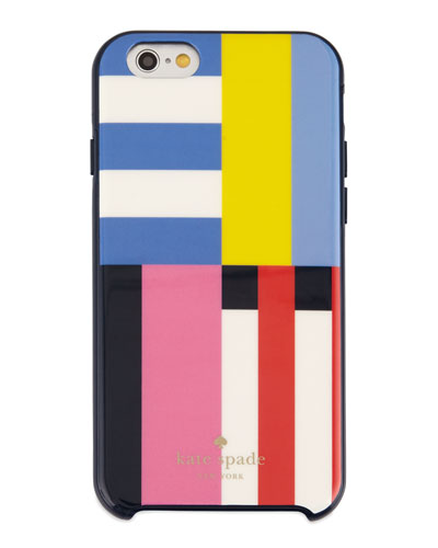 flag stripe hybrid hardshell iPhone 6 case