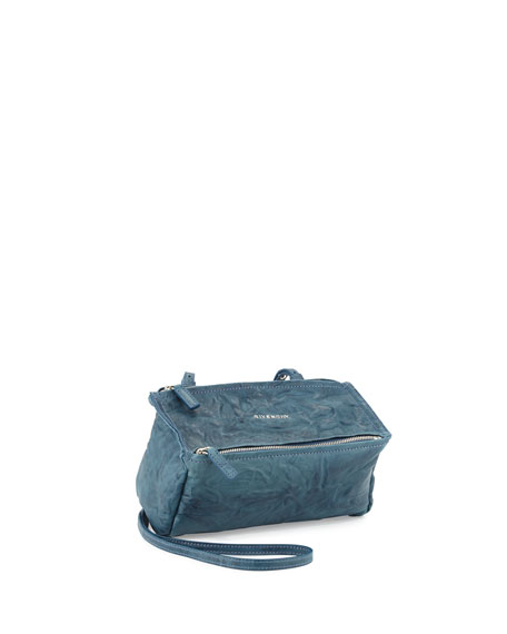 GivenchyPandora Mini Pepe Crossbody Bag, Blue