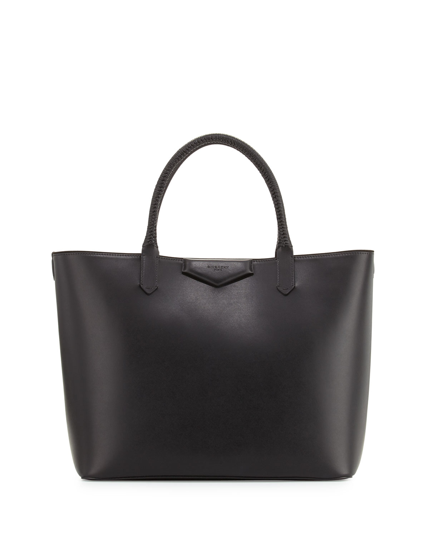 ebbb41d2de2c Givenchy Antigona Whipstitch-Handle Medium Tote Bag