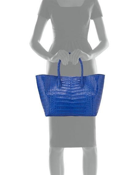 Crocodile Medium Convertible Tote Bag