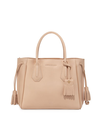 Penelope Small Tote Bag, Sandy