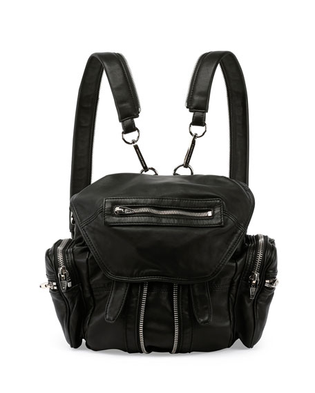 Alexander Wang Marti Nylon Backpack, Black