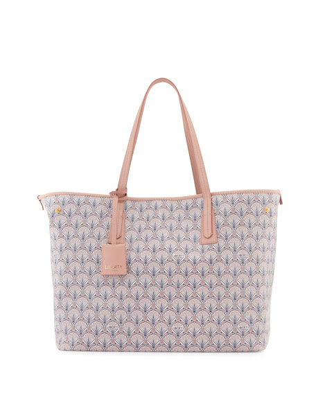 Liberty London Marlborough Iphis Printed Tote Bag, Blush